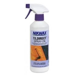 Nikwax TX. Direct Spray, Imprægnering af skitøj