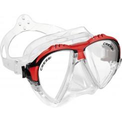 Cressi Matrix Maske, Rød