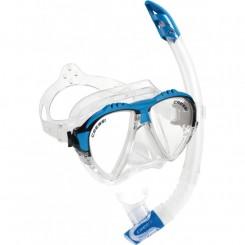 Cressi Matrix Maske + Snorkel, Blå