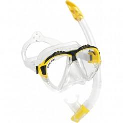 Cressi Matrix Maske + Snorkel, Gul