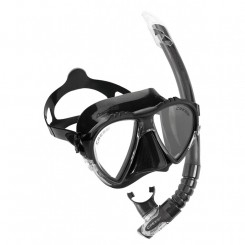 Cressi Matrix Maske + Snorkel, Sort
