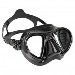 Cressi Nano Black Maske, Sort