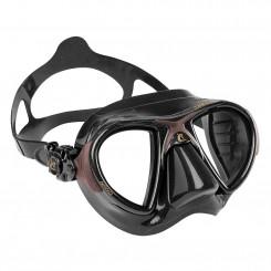 Cressi Nano Black Maske, Brun