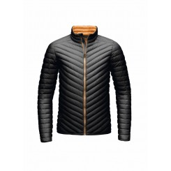 Kjus Blackcomb Dun Jakke, Black/ Orange Pepper