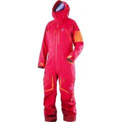 Haglofs W Vassi Q Suit, Volcanic Pink/Firecracker