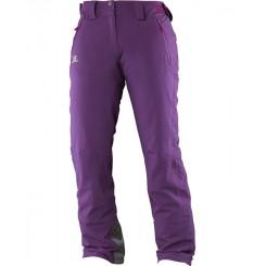 Salomon W Iceglory Pant, Cosmic Purple