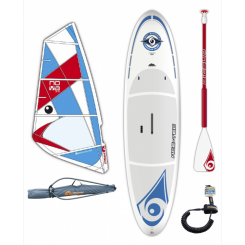 Bic 10´6 Performer Windsurf SUP M/Bic Nova Rig, paddle og leash