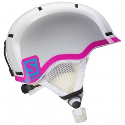 Salomon Grom Fluo - White Glossy/pink