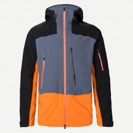 Kjus FRX Pro Jacket, Orange/ Sort