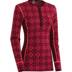 Kari Traa Rose L/S Roundneck, Wine
