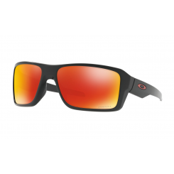 Oakley Double Edge Matte Black w/ Prizm Ruby Polarized