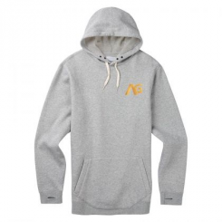 Analog Crux Hoodie, Grey Heather