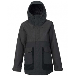 Burton W Cerena Parka Jacket, True Black