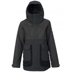 Burton W Cerena Parka Jacket, True Black