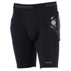 Burton Total Impact Shorts Men, True Black