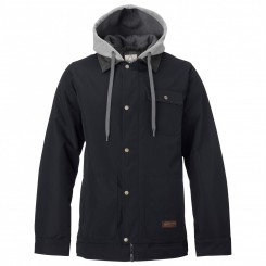 Burton Dunmore Jacket, True Black 17/18