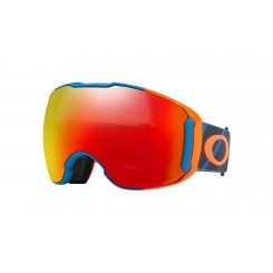 Oakley Airbrake XL Hazard Bar Blue w/ Prizm Torch + Prizm Rose
