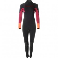 Brunotti W Xena 5/3 Backzip, Black/Coral