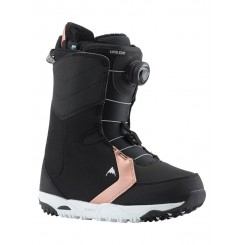 Burton Wms Limelight Boa 2019 Snowboard Boot, Black