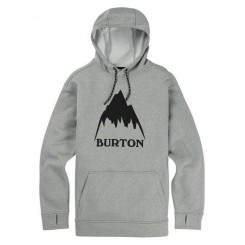 Burton OAK Hoodie, Monument Heather