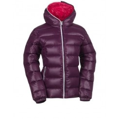 Kjus Girls Artic Down Jacket, Aubergine