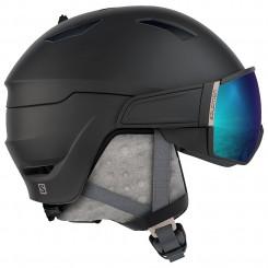Salomon Mirage Hjelm med visir, sort