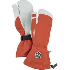 Hestra Army Leather Heli Ski 3F, Orange