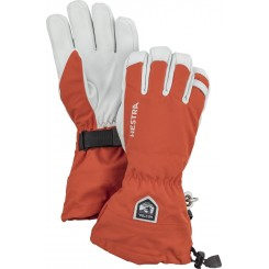 Hestra Army Leather Heli Ski 5F, Orange