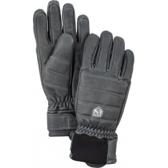 Hestra Alpine Leather Primaloft Handske, Black