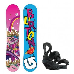 Burton Junior Chicklet inkl. Stiletto R:Flex Binding