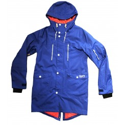 CLWR Signature Parka Jacket, Blue