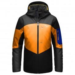 Kjus Boys FRX Jacket, Orange Pep