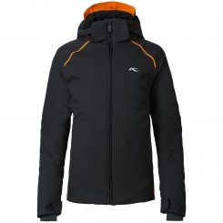 Kjus Boys Formula Jacket, Black/ Orange