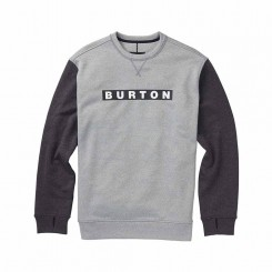 Burton OAK Crew, Monument Heather/ True Black Heather