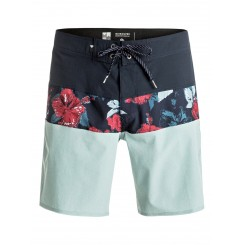 "Quiksilver  Panel Blocked Vee 19"" Boardshort"