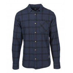 Rip Curl Check It Long Sleeve Shirt, Night Sky
