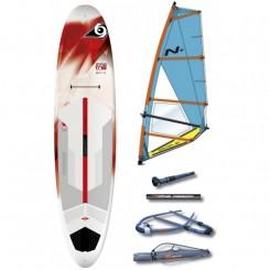 BIC Performer Windsurf / SUP 11'6 m. sværd & Komplet Nova Rig