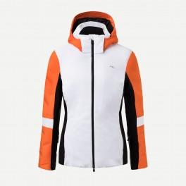 Kjus W Formula Jakke 19/20, White/Kjus-Orange