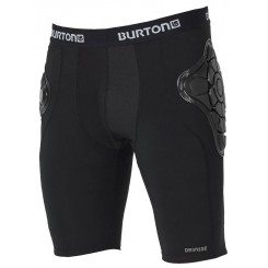Burton Total Impact Shorts Men 19/20, True Black