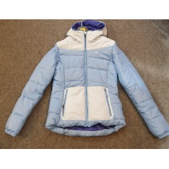 Kjus Girls Artic Down DLX Jacket, Dusk Blue