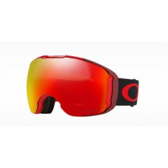 Oakley Airbrake XL Obsessive Lines Red/ Prizm Torch + Prizm Rose
