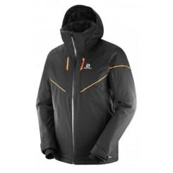 Salomon Stormrace Jacket, Black/Orange