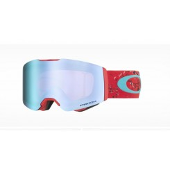 Oakley Fall Line Arctic Fracture Red Carribean Sea/ Prizm Sapphire