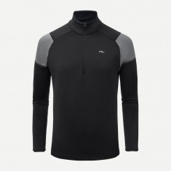 Kjus Race Midlayer Half-Zip 19/20, Black-Steel/Grey