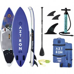 "(KUN 2 STK!) Aztron Orion 8'6"" Double Chamber Surf-SUP AIR 2020 Pakke"