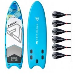 Aqua Marina Mega Group Oppustelig SUP Pakke 2020 + Paddles