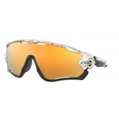Oakley Jawbreaker Splatter White / 24K Iridium