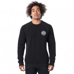 Rip Curl Patched Sweater NT, black