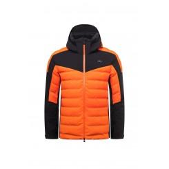 Kjus Sight Line Jacket, orange/black, 2021