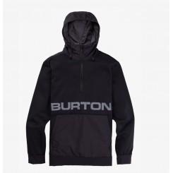 Burton Crown Bonded Pullover Fleece 20/21, True Black